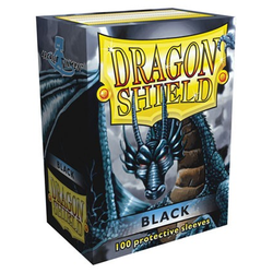 Dragon Shield Sleeves - Standard Black (100 ct. in box)