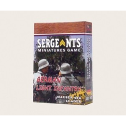 Sergeants Miniature Game: German Light Infantry Mauser 98 Leader