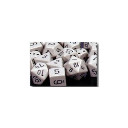 Opaque: Grey/black (36-dice set)