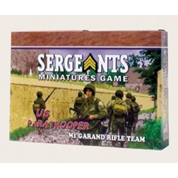 Sergeants Miniature Game: US Paratrooper Rifle Team