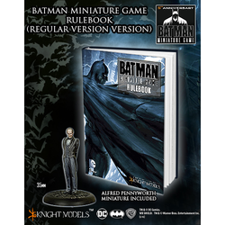 Batman Miniature Game Rulebook (Batman Cover + Alfred Promo)