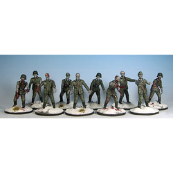 WW2 German Zombies - 'Die Verdammten' (30 plastic miniatures)