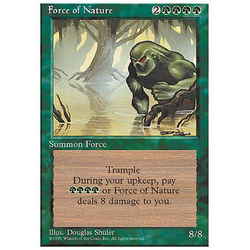 Magic löskort: 4th Edition: Force of Nature