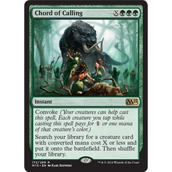 Magic löskort: M15: Chord of Calling