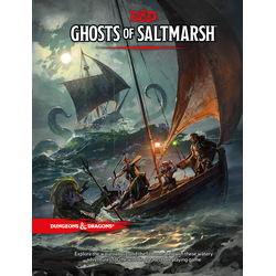 D&D 5.0: Ghosts of Saltmarsh (standard cover)