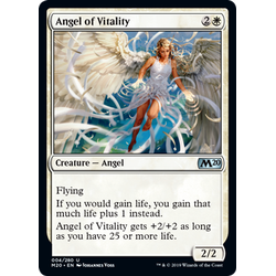 Magic löskort: Core Set 2020: Angel of Vitality