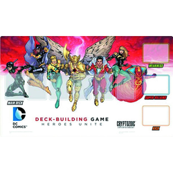 DC Comics Deck-Building Game: Heroes Unite Play mat