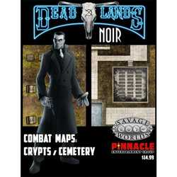 Deadlands: Noir - Cemetary / Crypt Combat Map (Savage Worlds)