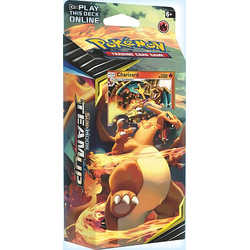 Pokemon TCG: Sun & Moon 9 Team Up Theme Deck Relentless Flame