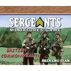 Sergeants Miniature Game: Commonwealth Parachute Bren Team
