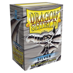 Dragon Shield Sleeves - Standard Silver (100 ct. in box)