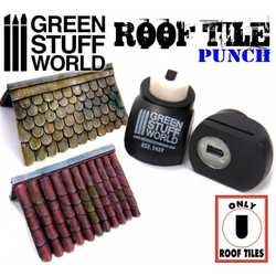 Miniature Roof Tile Punch Black