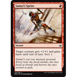 Magic löskort: War of the Spark: Samut's Sprint