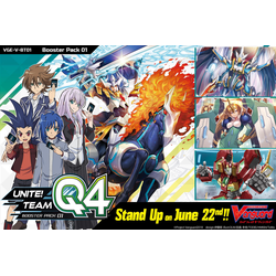 Cardfight!! Vanguard: Vol. 01: Unite! Team Q4 Display (16 booster packs)