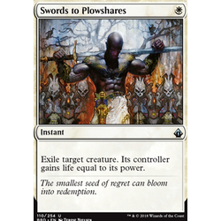Magic löskort: Battlebond: Swords to Plowshares