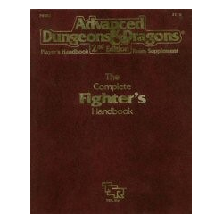 ADD 2nd ed: The Complete Fighter's Handbook