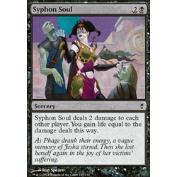 Magic löskort: Conspiracy: Syphon Soul