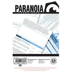 Paranoia: Forms Pack