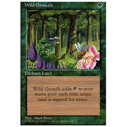 Magic löskort: 4th Edition: Wild Growth