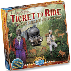 Ticket to Ride Map Collection 3 - The Heart of Africa