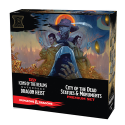 Icons of the Realms: Dragon Heist Case Incentive City of the Dead