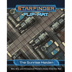 Starfinder Flip-Mat: The Sunrise Maiden