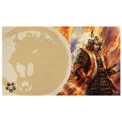 Legend of the Five Rings: Playmat Right Hand of the Emperor