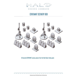 Halo: Ground Command - Covenant Scenery Box
