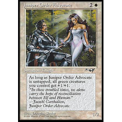 Magic löskort: Alliances: Juniper Order Advocate