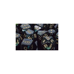 Scarab™ Jade/gold (36-dice set)