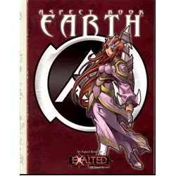 Exalted: Aspect Book, Earth (Begagnad) )