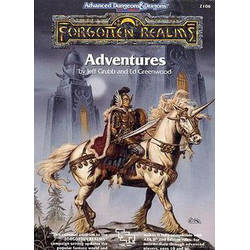 ADD 2nd ed: Forgotten Realms - Adventures