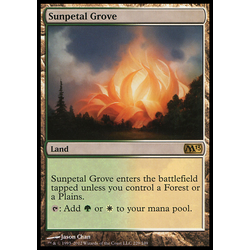 Magic Löskort: Core Set 2011 (M11): Sunpetal Grove