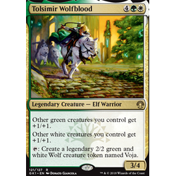 Magic löskort: Guild Kits: Tolsimir Wolfblood