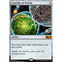 Magic löskort: Core Set 2019: Crucible of Worlds