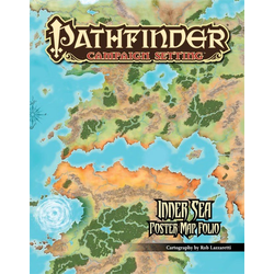 Pathfinder Campaign: Inner Sea Poster Map Folio
