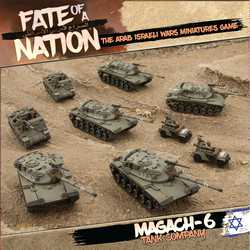 Fate of a Nation: Magach-6 Tank Company