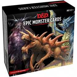 D&D 5.0: Monster Cards - Epic Monsters