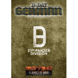 Flames of War: D-Day: German 21st Panzer Division (4th Ed.)