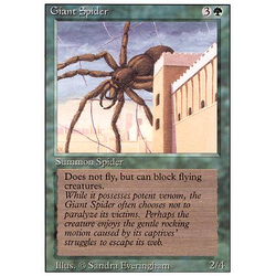 Magic löskort: Revised: Giant Spider