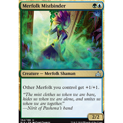 Magic löskort: Rivals of Ixalan: Merfolk Mistbinder