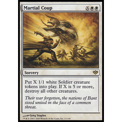 Magic löskort: Conflux Martial Coup