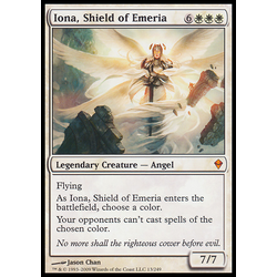 Magic löskort: Zendikar: Iona, Shield of Emeria