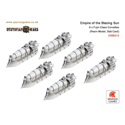 Empire of the Blazing Sun Fujin Class Corvettes (6)