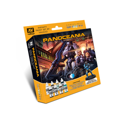 Infinity: Model Color Set - PanOceania (including Exclusive Miniature)