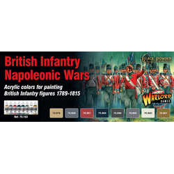 Vallejo Paint Set Napoleonic British