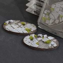 Battle Ready Bases - Temple 90mm Oval (2)