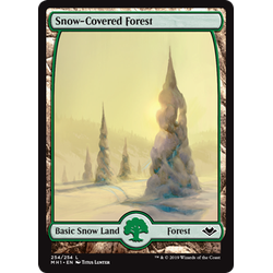 Magic löskort: Modern Horizons: Snow-Covered Forest