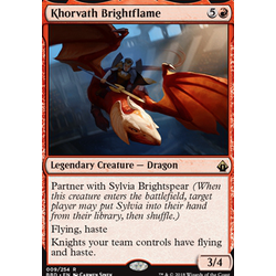 Magic löskort: Battlebond: Khorvath Brightflame