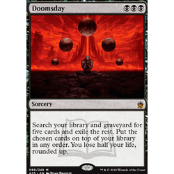 Magic löskort: Masters 25: Doomsday